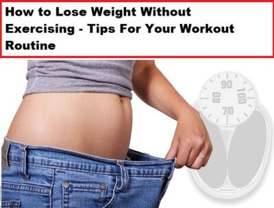 Lose Weight Exercising