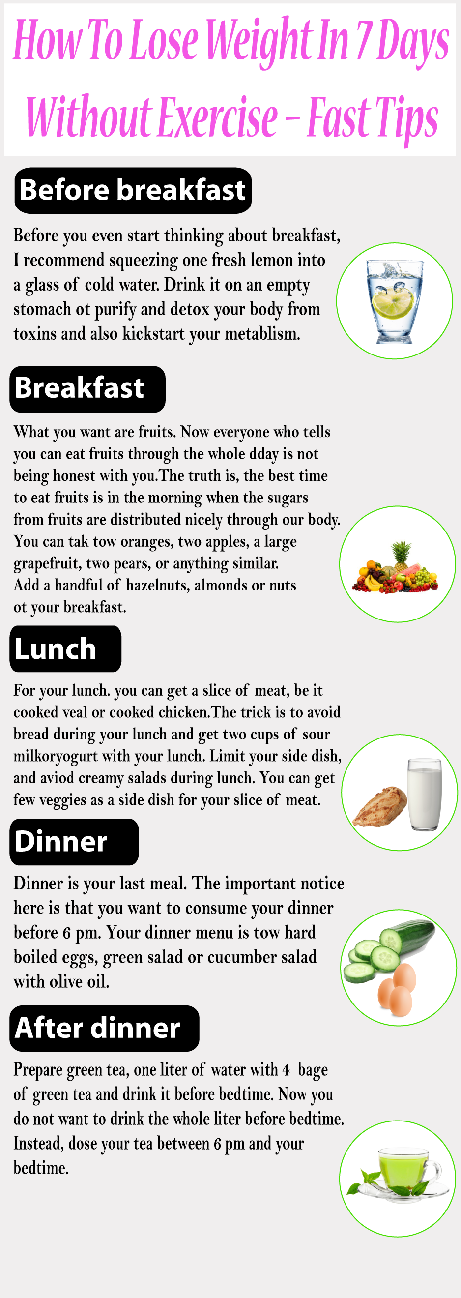loseing weight without exercise